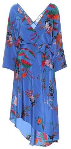 Diane von Furstenberg Eloise floral-printed silk dress