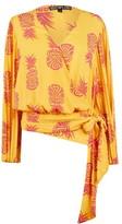 Biba Pineapple Wrap Blouse