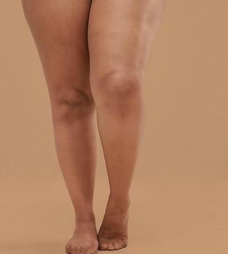Nubian Skin 15 Denier Nude Tights In Medium