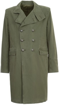 Balmain Cotton Long Coat