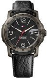 Tommy Hilfiger SkyWinder Black Dial Black Leather Strap Mens Watch 1790896