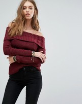 Hollister Marilyn Off The Shoulder Jumper