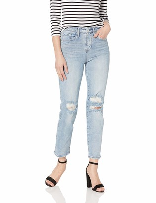 William Rast Women's So Cheeky High Rise Straight Jean