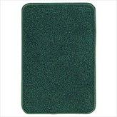 Carpets For Kids 3100.321 Mt. Shasta Solids 6 ft. x 9 ft. Rectangle Rug - Forest Green