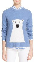 Kate Spade Women's Polar Bear Merino Wool Blend Sweater