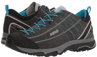 Asolo Nucleon GV (Graphite/Silver/Cyan Blue) Women's Shoes