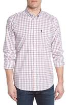 Barbour Henry Trim Fit Check Short Sleeve Sport Shirt