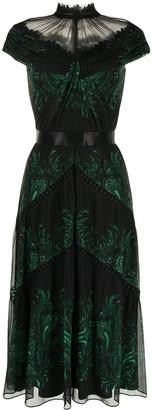 Tadashi Shoji Defne paisley long dress