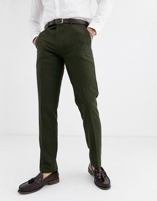 Harry Brown wedding tweed heritage slim fit suit pants