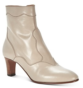 Chloé Women's Patchwork Western Booties