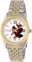Spiderman Marvel Comics Men's W000560 Two-Tone Status Watch