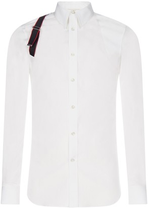Alexander McQueen Harness Detail Shirt