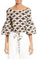 Milly Women's Lydia Chain Print Top