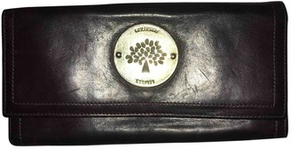 Mulberry Brown Leather Wallets