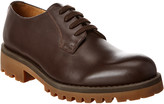 Valentino Leather Derby Shoe