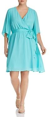 Marée Pour Toi Faux-Wrap Dress