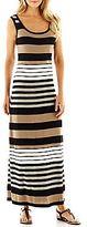 R&K Originals® Striped Maxi Dress
