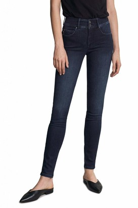 Salsa Secret Push in Skinny Jeans in Dark Denim