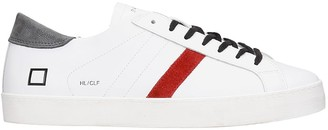 D.A.T.E Hill Low Sneakers In White Leather