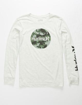 Hurley Circular Print Boys T-Shirt
