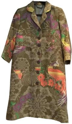 Matthew Williamson Green Cotton Coat for Women