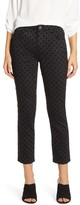 Wit & Wisdom Ab-Solution High Waist Dot Ankle Pants