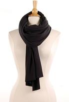 Saint Grace Brushed Knit Scarf In Black 1920813444