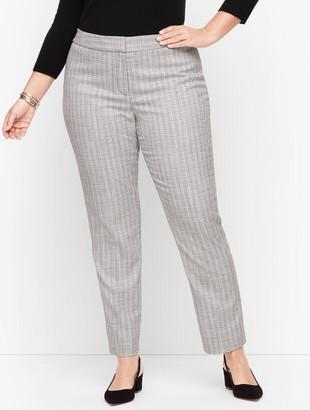 Talbots Plus Size Exclusive - Westport Tweed Slim Ankle Pants