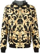 Versace baroque print hoodie