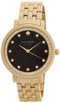 Kate Spade Women&s Monterey Crystal Embellished Bracelet Watch