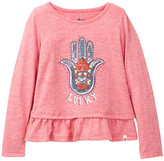 Lucky Brand Hamsa Graphic Tee (Toddler Girls)