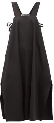 ÀCHEVAL PAMPA Samba Side-tie Cotton-blend Dress - Black