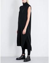 Isabel Benenato Turtleneck wool jumper dress
