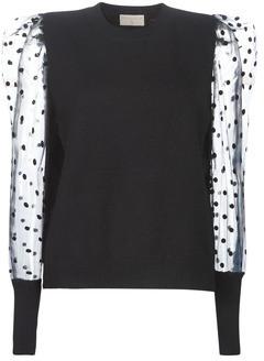 Moony Mood women's Sweater in Black