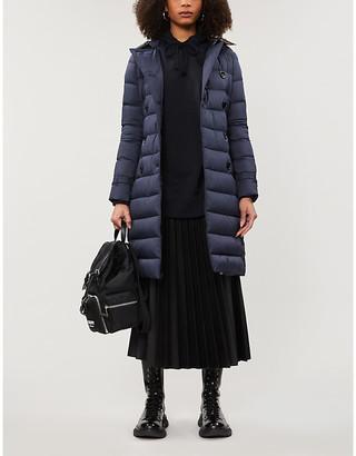 Burberry Arniston hooded shell-down coat