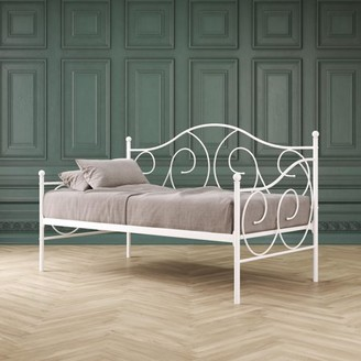 DHP Victoria Metal Daybed, Twin, White