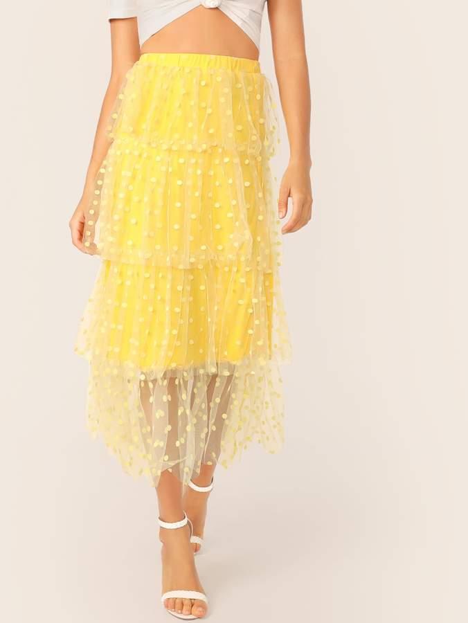 e0ed311d6 Neon Yellow Skirt - ShopStyle