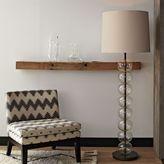 west elm Abacus Floor Lamp - Glass
