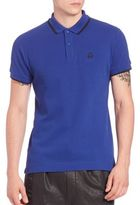 McQ by Alexander McQueen Contrast Trim Polo Shirt