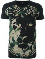 Versus camouflage logo print T-shirt