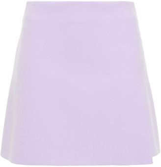 Alice + Olivia Crepe Mini Skirt