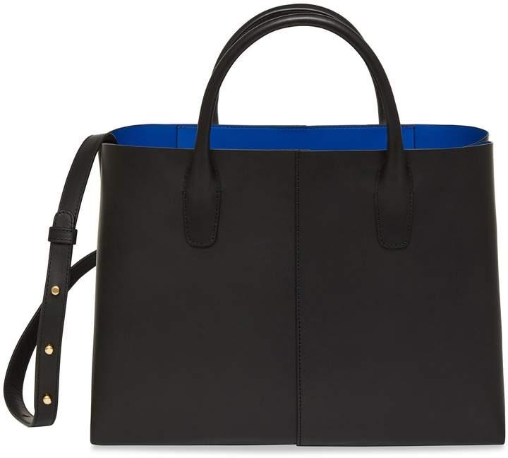 Mansur Gavriel Black Folded Bag