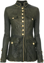 Giorgio Brato fitted military jacket