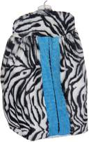 Baby Doll Bedding Baby Doll Zebra Minky Diaper Stacker, Blue