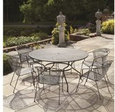 Royal Garden Elegance 6 Seat Table and Chair Set