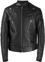 Organic Leather Racing Jacket