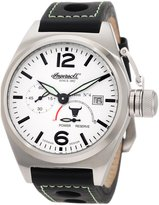 Ingersoll Men's IN1605WBK Automatic Bison Number 4 White Black Watch