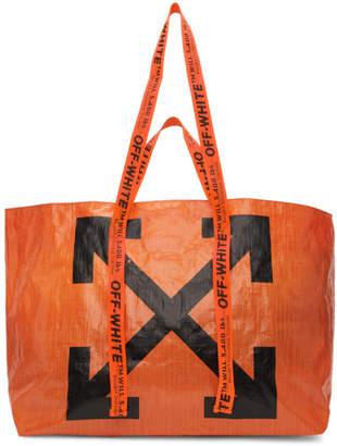 Off-White Off White Orange New Commercial Tote