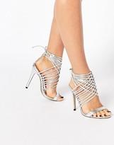Public Desire Mona Strappy Heeled Sandals