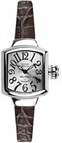 Glam Rock Women's MBD27041 Miami Beach Art Deco Silver Dial Stainless Steel Watch